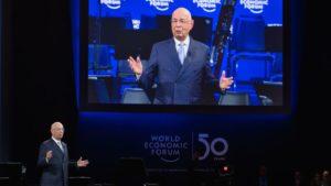 WEF-Gründer Klaus Schwab beim World Economic Forum in Davos im Januar 2020 (Foto: AFP). Great Reset.