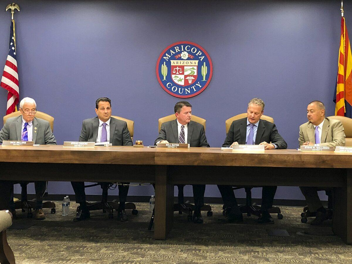 The Maricopa County Board of Supervisors