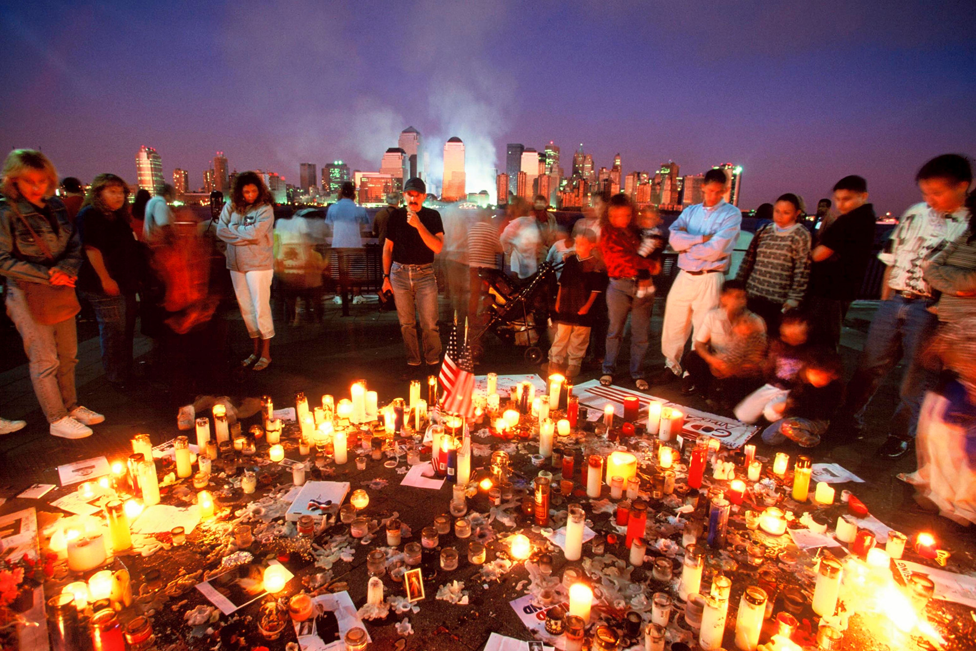 Following the 9/11 attacks, people prioritized each other's well-being over politics.